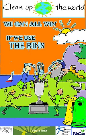 The Environmental Safety Group Poster Competition Use The Bins