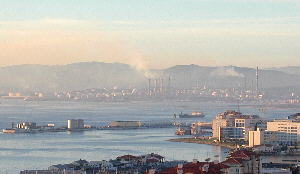 heavy industries viewed from Gib