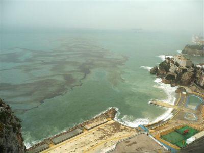 Sat pm oil from Fedra reaching local beaches